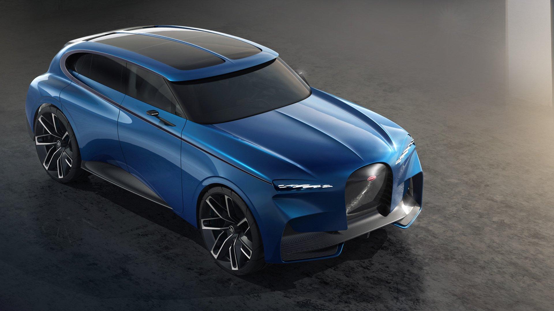 Bugatti Spartacus Super Suv Looks Much Better Than Cullinan Autoevolution