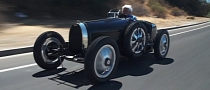 Bugatti Type 35 Replica on Jay Leno [Video]