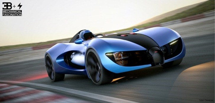Bugatti TypeZero Concept Is a Single-Seater Dream