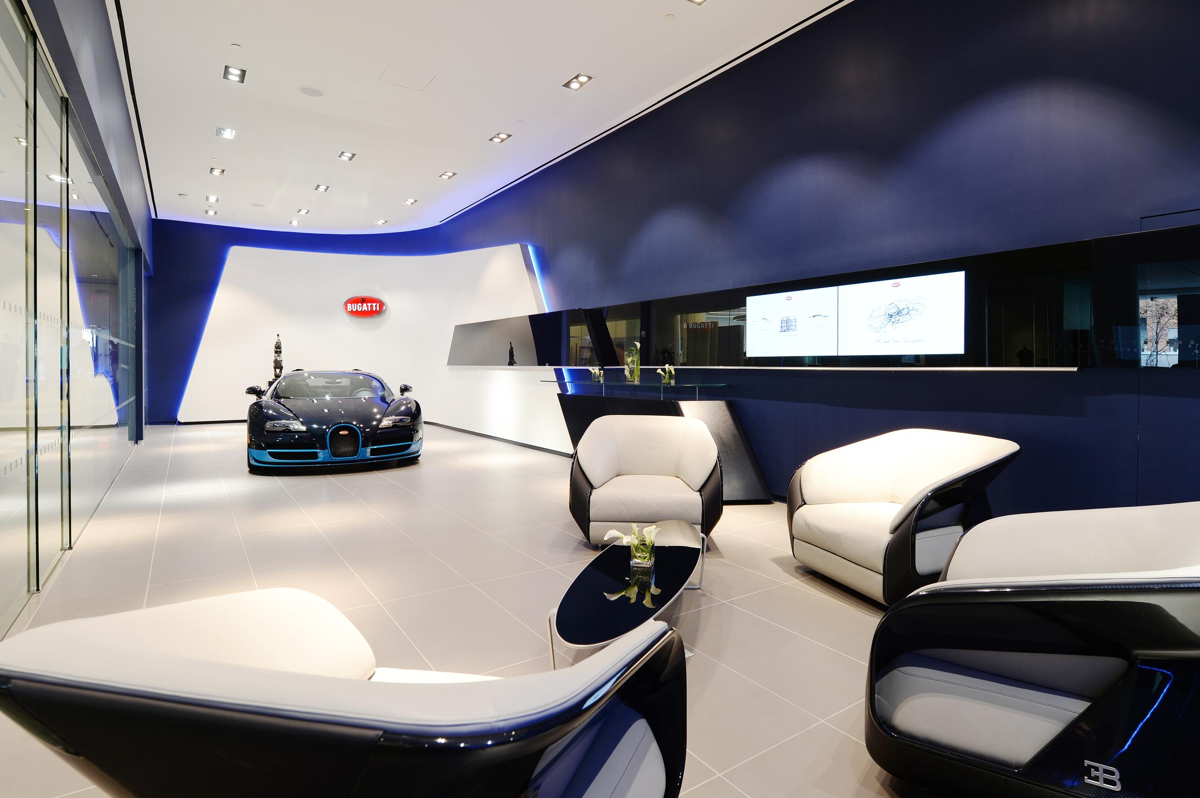 Bugatti Unveils New Concept Store With A Premiere In