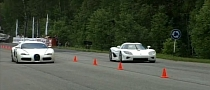 Bugatti Veyron and Koenigsegg CCXR Drag Race [Video]