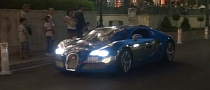 "Bugatti Veyron ""Bleu"" Centenaire Spotted in Monaco [Video]"