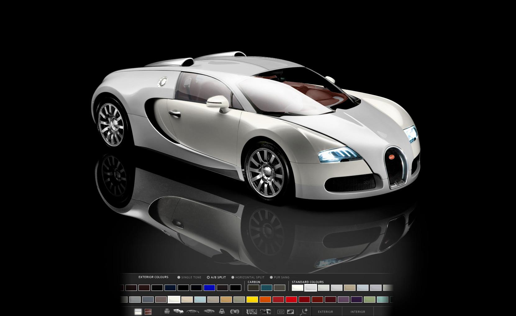 bugatti veyron configurator goes online autoevolution. Black Bedroom Furniture Sets. Home Design Ideas