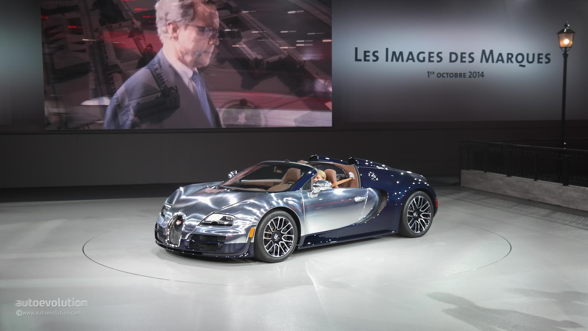 bugatti veyron ettore bugatti legend edition shown at the paris motor show l. Black Bedroom Furniture Sets. Home Design Ideas