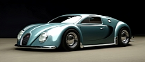 Bugatti Veyron Gets Beetle Edition Rendering