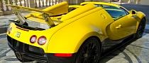 Bugatti Veyron Grand Sport Coming to Qatar Motor Show 2012 in Custom Yellow