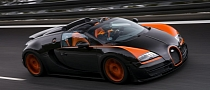 Bugatti Veyron Grand Sport Vitesse Is the World's Fastest Roadster [Photo Gallery]