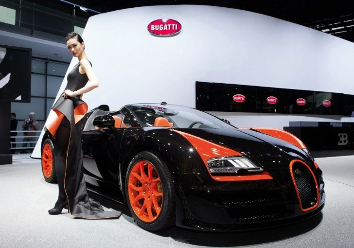 Bugatti Veyron Grand Sport Vitesse WRC Introduced in Shanghai [Photo Gallery]
