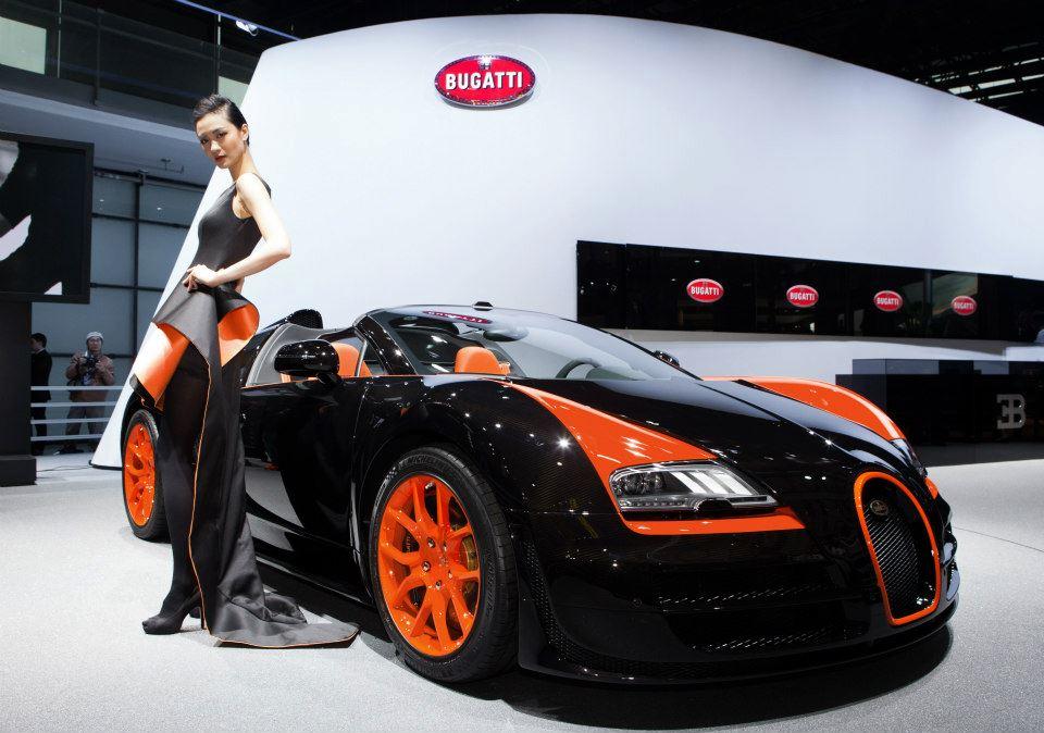 bugatti veyron grand sport vitesse wrc introduced in shanghai autoevolution. Black Bedroom Furniture Sets. Home Design Ideas
