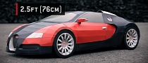 Bugatti Veyron Papercraft: Build Your Own [Video]