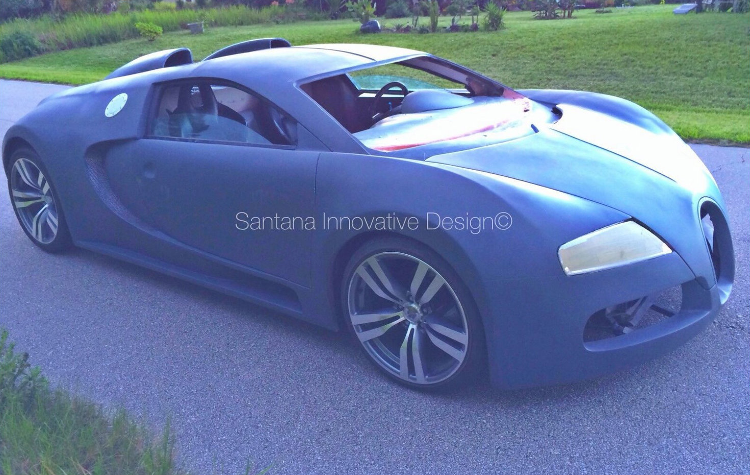 bugatti veyron replica advertised for 115k on ebay autoevolution. Black Bedroom Furniture Sets. Home Design Ideas