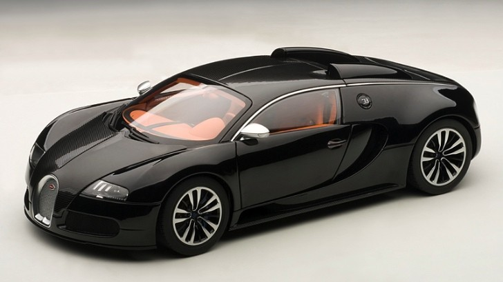 Bugatti Veyron Sang Noir Scale Model Revealed [Photo Gallery]