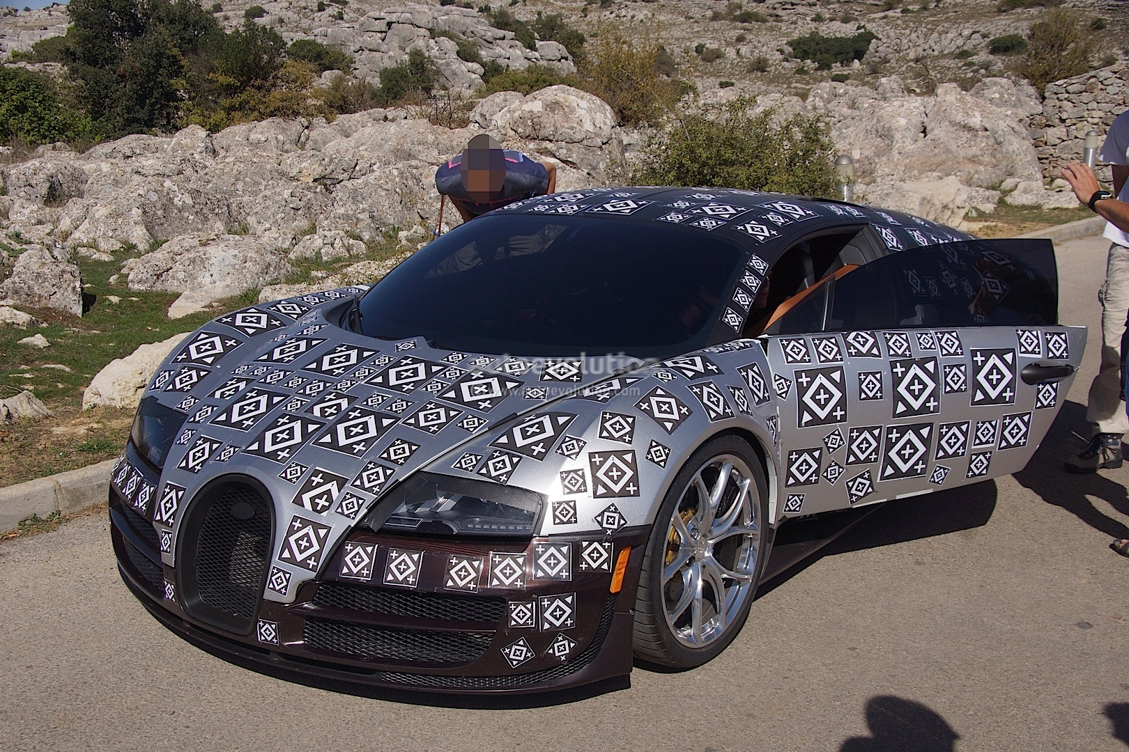 Bugatti Engine Manual User Guide That Easy To Read Veyron Diagram Successor Chiron Spied Testing Hybrid Power Rh Autoevolution Com
