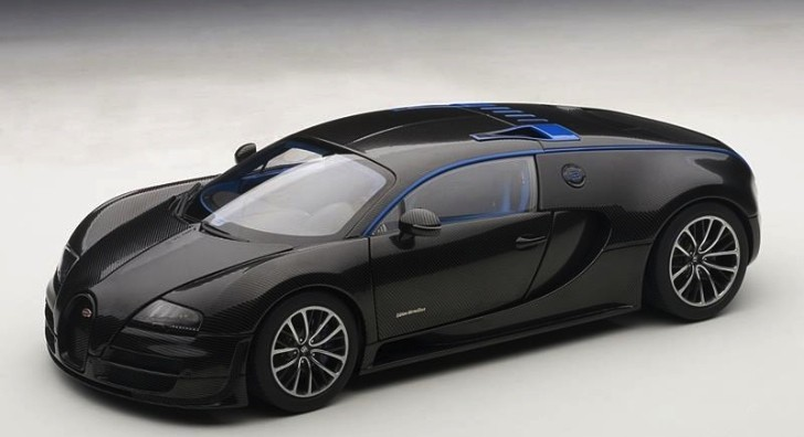 Bugatti Veyron Super Sport Edition Merveilleux Becomes a Scale Model [Photo Gallery]