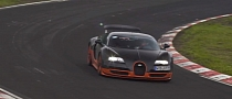 Bugatti Veyron Super Sport Aiming for Nurburgring Record? [Video]