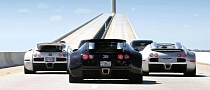 Bugatti Veyron Trio Is a Horsepower Explosion