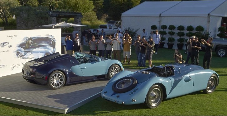 Bugatti Veyron Wimille Edition Makes Public Debut at Pebble Beach [Photo Gallery]