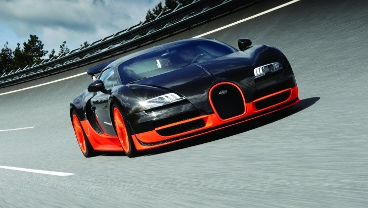 Bugatti Working on 1,600 HP Veyron