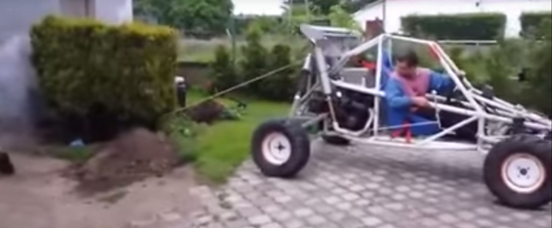 Buggy driver tries to pull bush out of the ground plant fights 7 photos sciox Choice Image