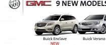 Buick and GMC Have 9 New Models Coming in 12 Months