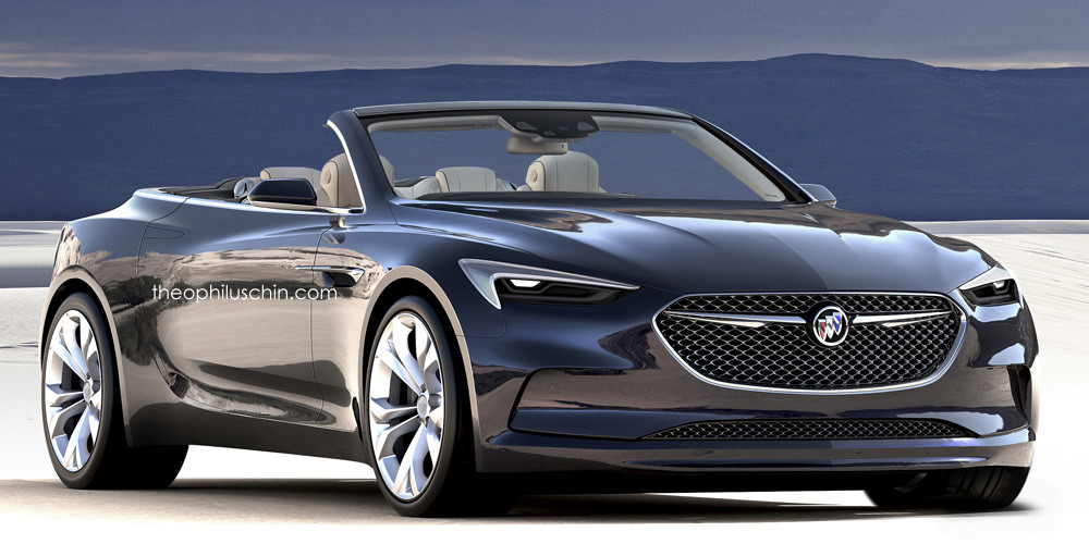 Buick Avista Convertible Looks Stunning, Rendering Begs for Production ...