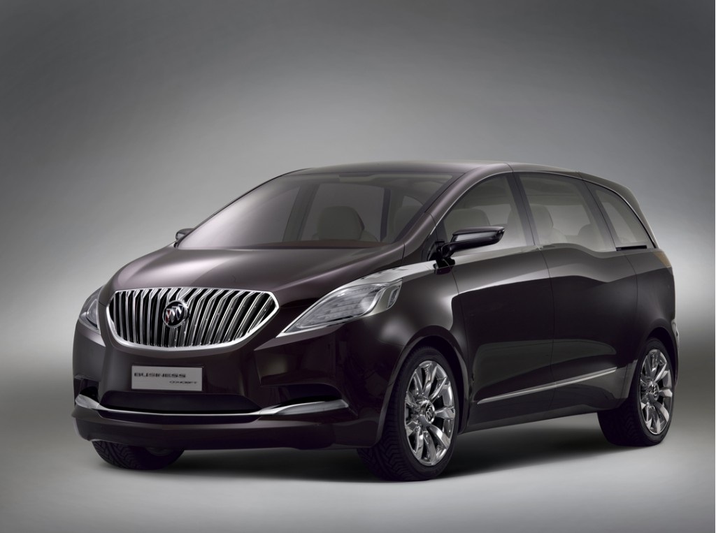 Buick Business Hybrid Concept Vehicle Released In Shanghai