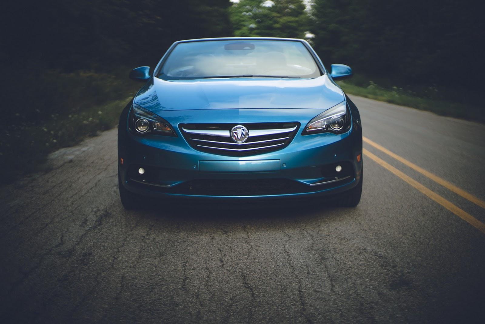 cascada premium image convertible exterior front view door buick l