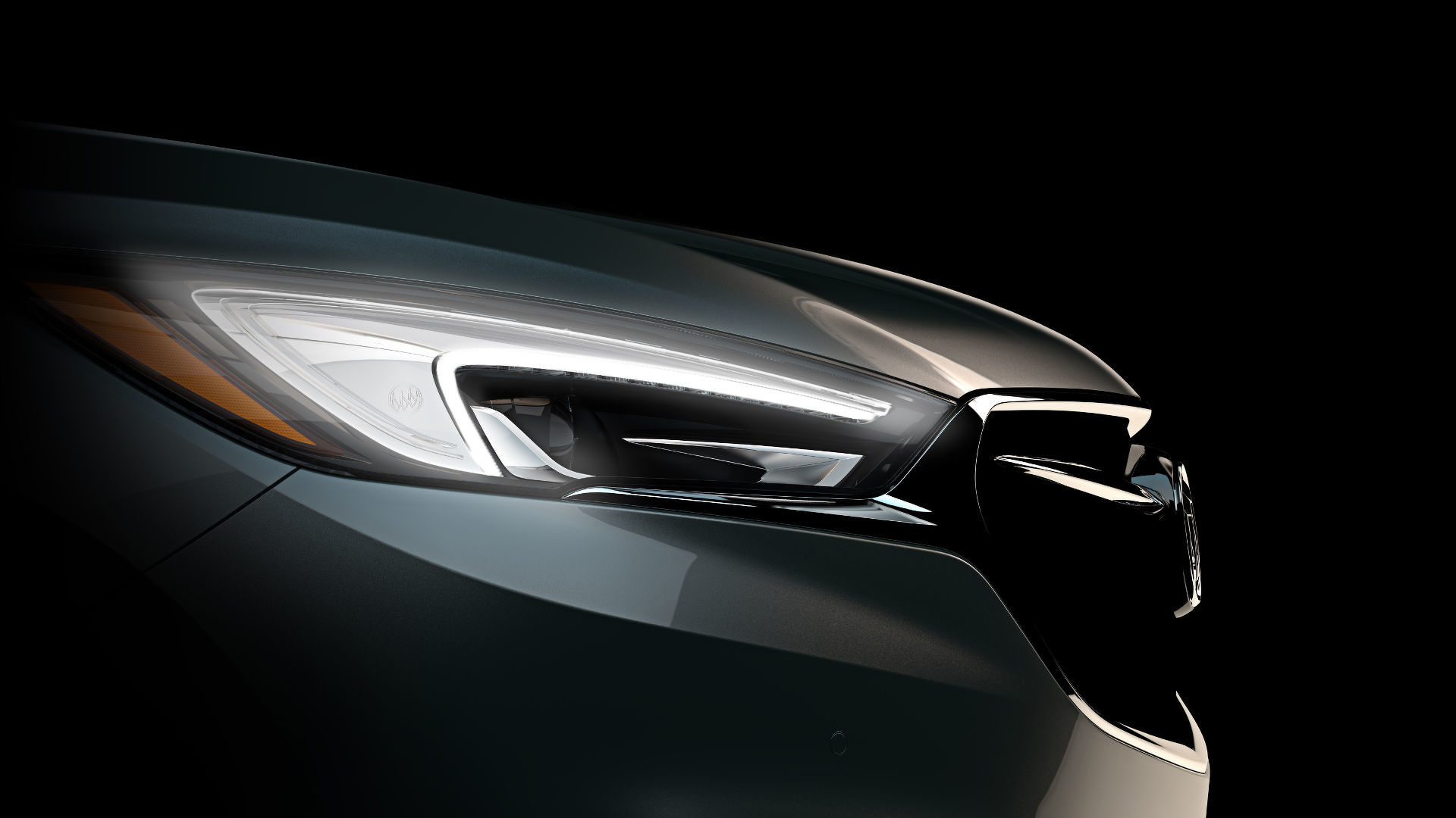 Buick Releases Teaser Image 2018 Enclave To Debut At 2017 New