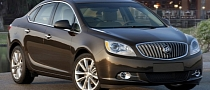 Buick Verano Named IIHS 2012 Top Safety Pick