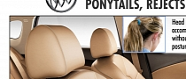 Buick Verano Seats Set New Standards in Ponytail Accommodation