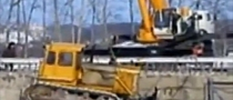 Bulldozer vs. Crane Goes Terribly Wrong in Russia [Video]