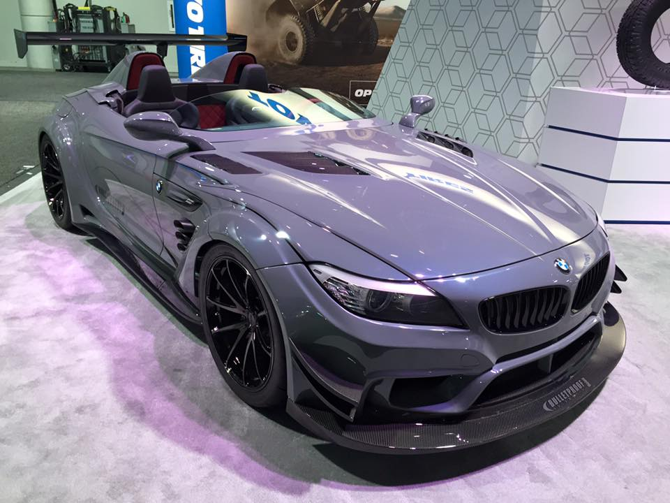 Bulletproof Automotive S Bmw Z4 Gt Continuum Isn T