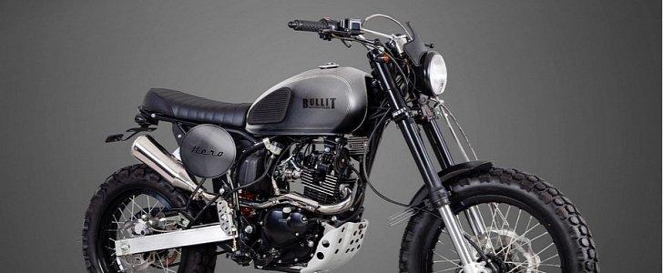 bullit motorcycles reveals 2017 hero 125 scrambler autoevolution. Black Bedroom Furniture Sets. Home Design Ideas