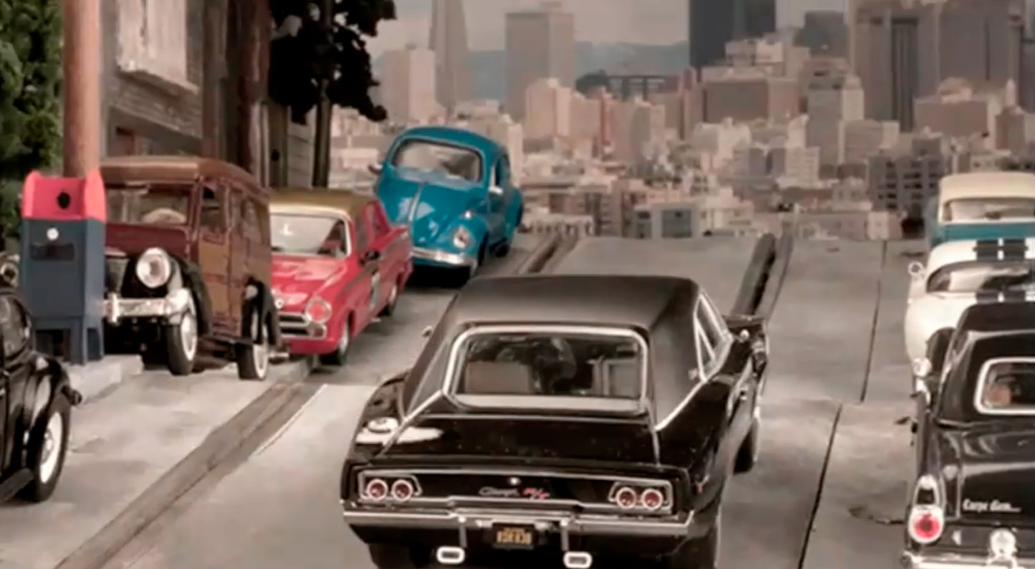 Bullitt has shrunk but it s still cool there is probably no movie car chase more famous