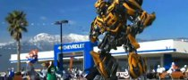 Bumblebee Beats a Mascot in Chevy Super Bowl Ad [Video]
