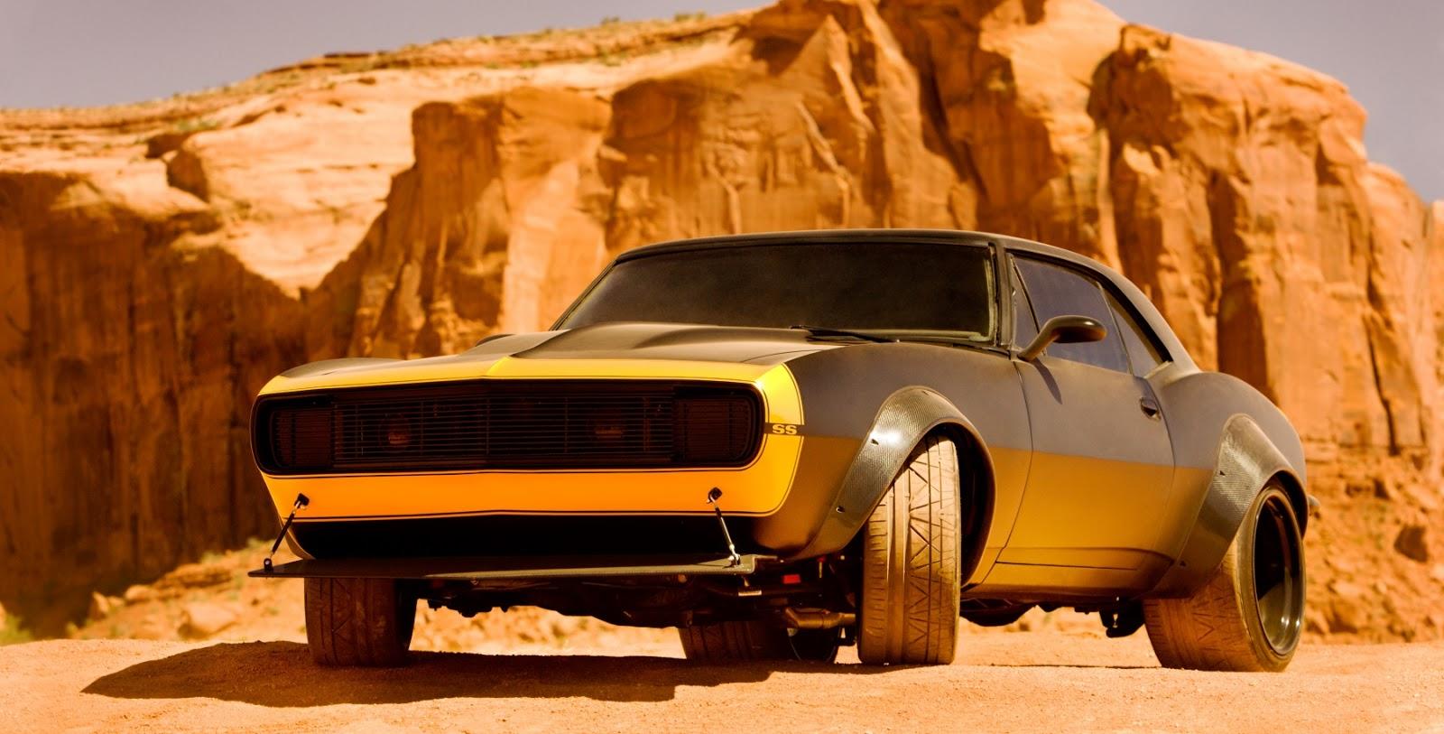 Bumblebee Becomes 1967 Camaro in Transformers 4  autoevolution
