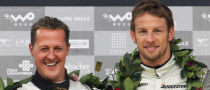 Button Says F1 Return Risky for Schumacher