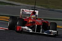 Ferrari's F150th Italia impressed Button in Barcelona