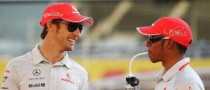 Button Tells Hamilton to Stay at McLaren