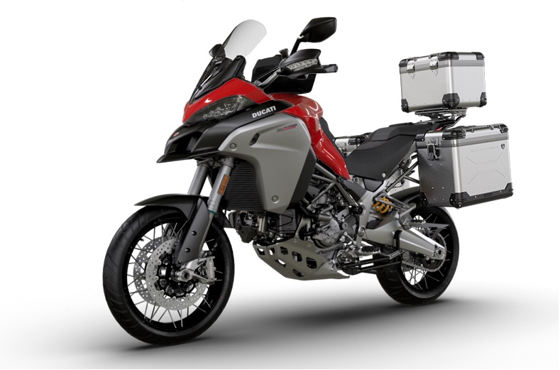 Buy A Ducati Multistrada And Get Free Optional Parts In