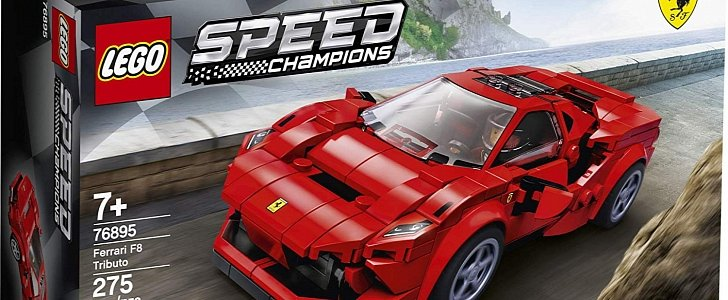 Buy Your First Ferrari With the Lego F8 Tributo for Just $20 - autoevolution