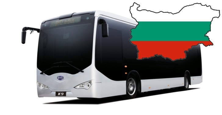 BYD to Build EV Manufacturing Plant in Bulgaria