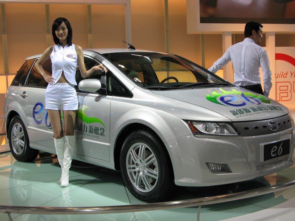 Byd To Launch All Electric E6 In The Us In 2010