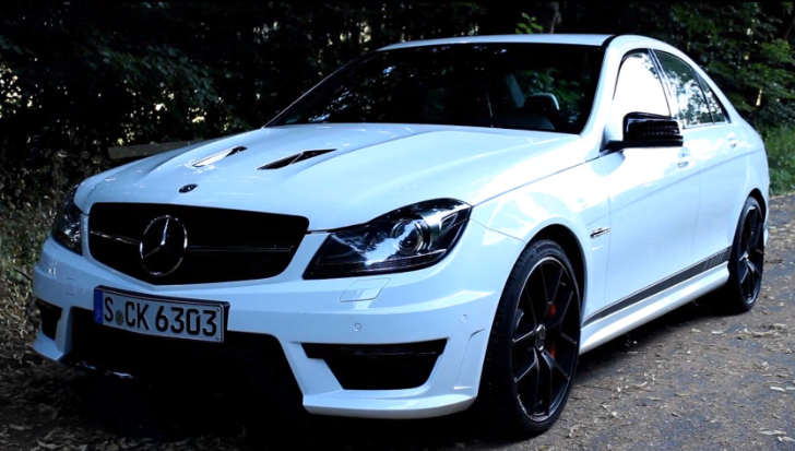 C63 AMG 507 Edition Gets Tested in Germany [Video]