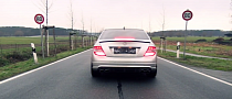 C 63 AMG Accelerating From a Stop is Ear-gasmic [Video]