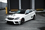 C 63 AMG Coupe Black Series on PUR Wheels Looks Ferocious [Photo Gallery]
