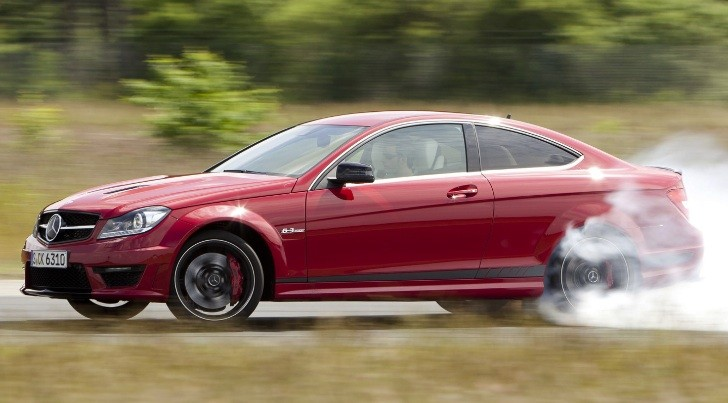 C 63 AMG Coupe Edition 507 Track Tested by Drive [Video]