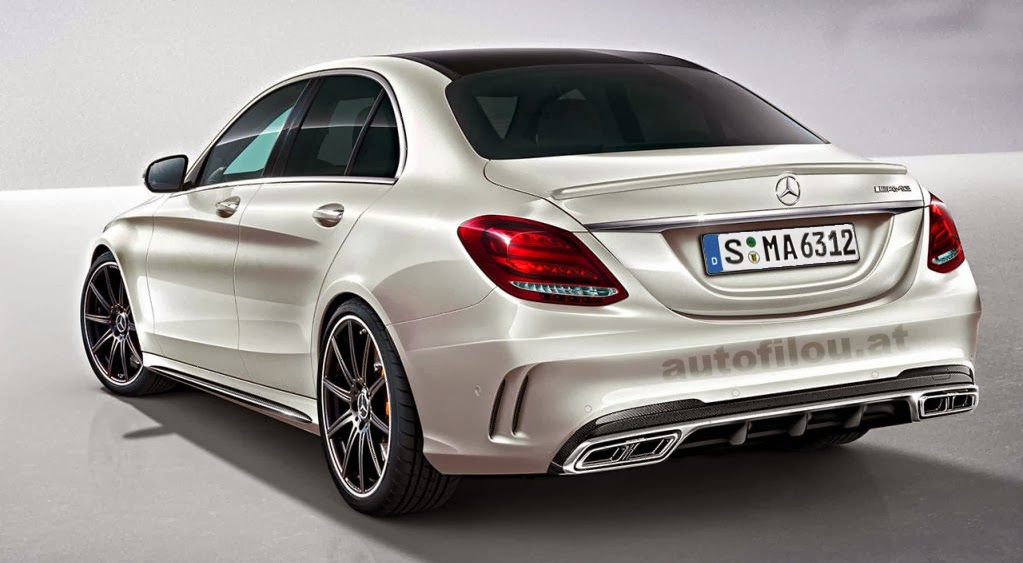 c 63 amg w205 rendering might pass as the real deal autoevolution. Black Bedroom Furniture Sets. Home Design Ideas
