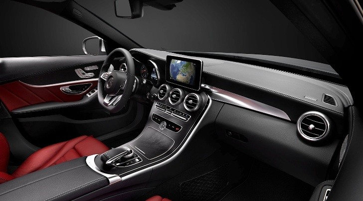 C-Class W205 Interior Was Designed in Italy [Photo Gallery]