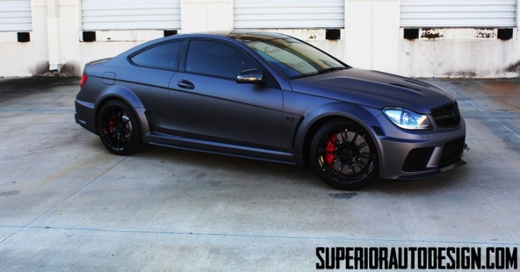 C63 AMG Black Series by Superior Auto Design [Photo Gallery]